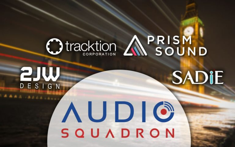 Tracktion and 2JW Design Join Forces with Prism Sound and SADiE under the umbrella of Audio Squadron