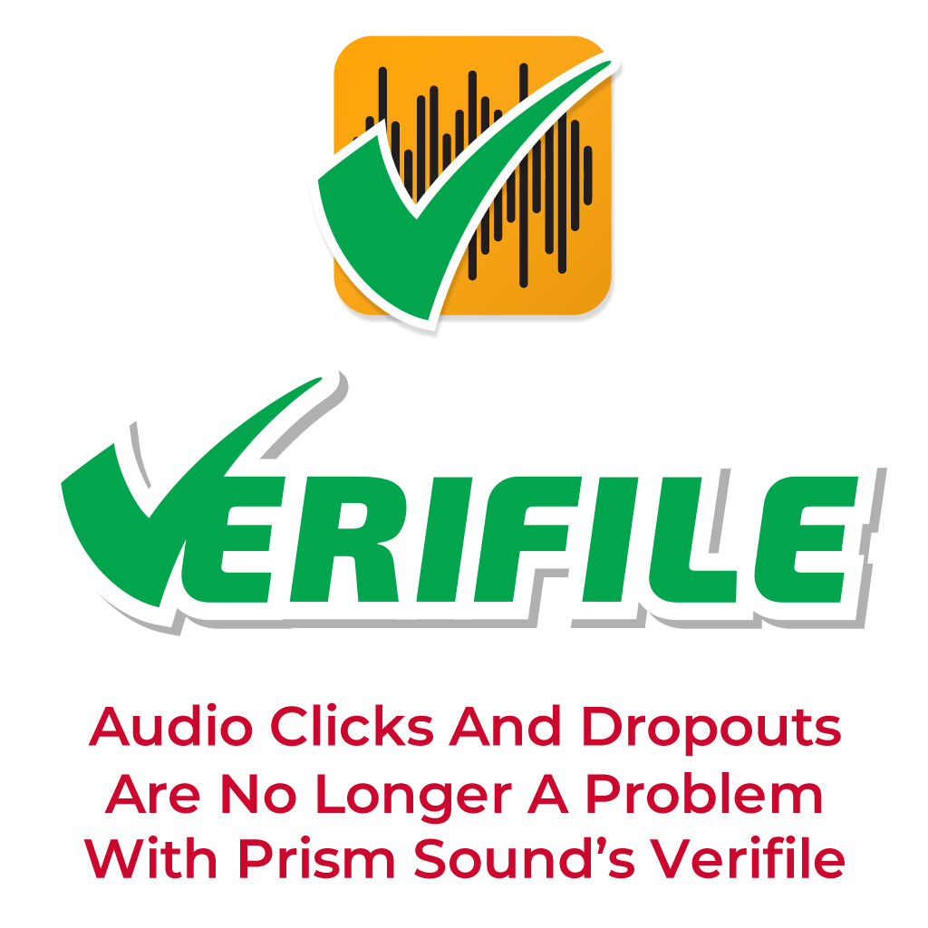 Prism Sound Verifile Software