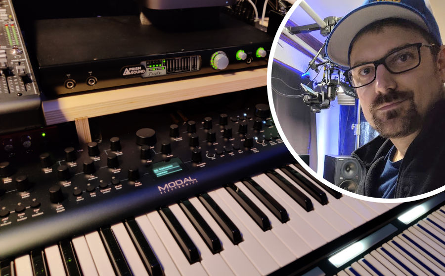 James High - Prism Sound Titan in use with Modal Synth