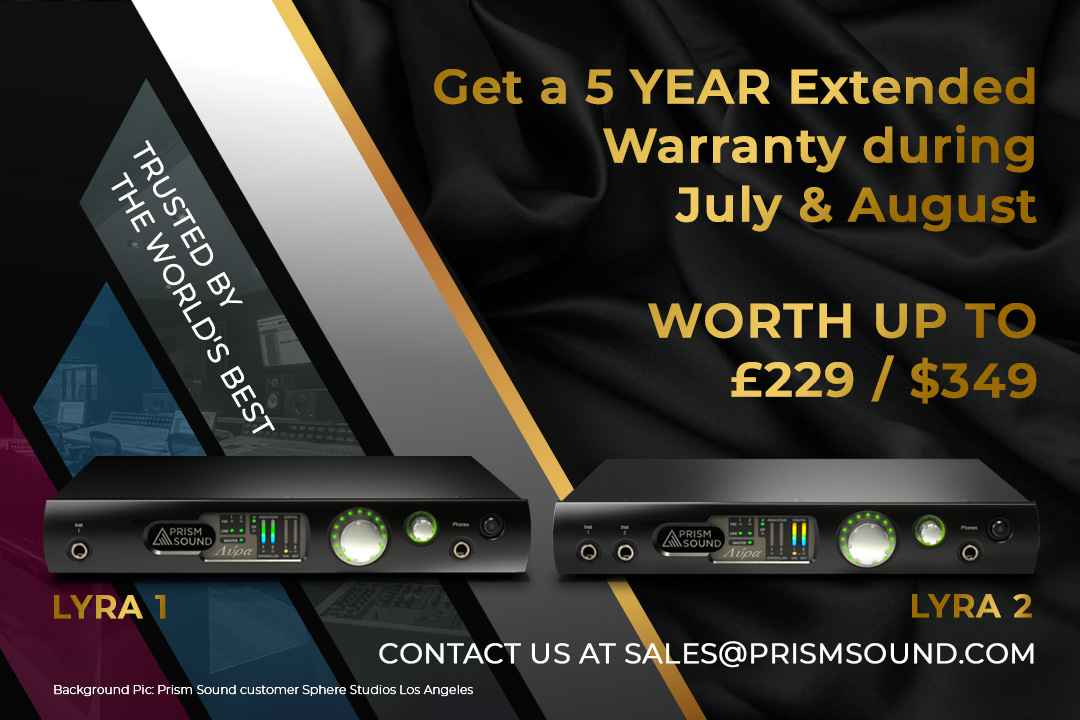 FREE 5 YEAR EXTENDED WARRANTY ON LYRA