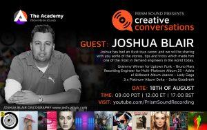 Joshua Blair Creative Conversation